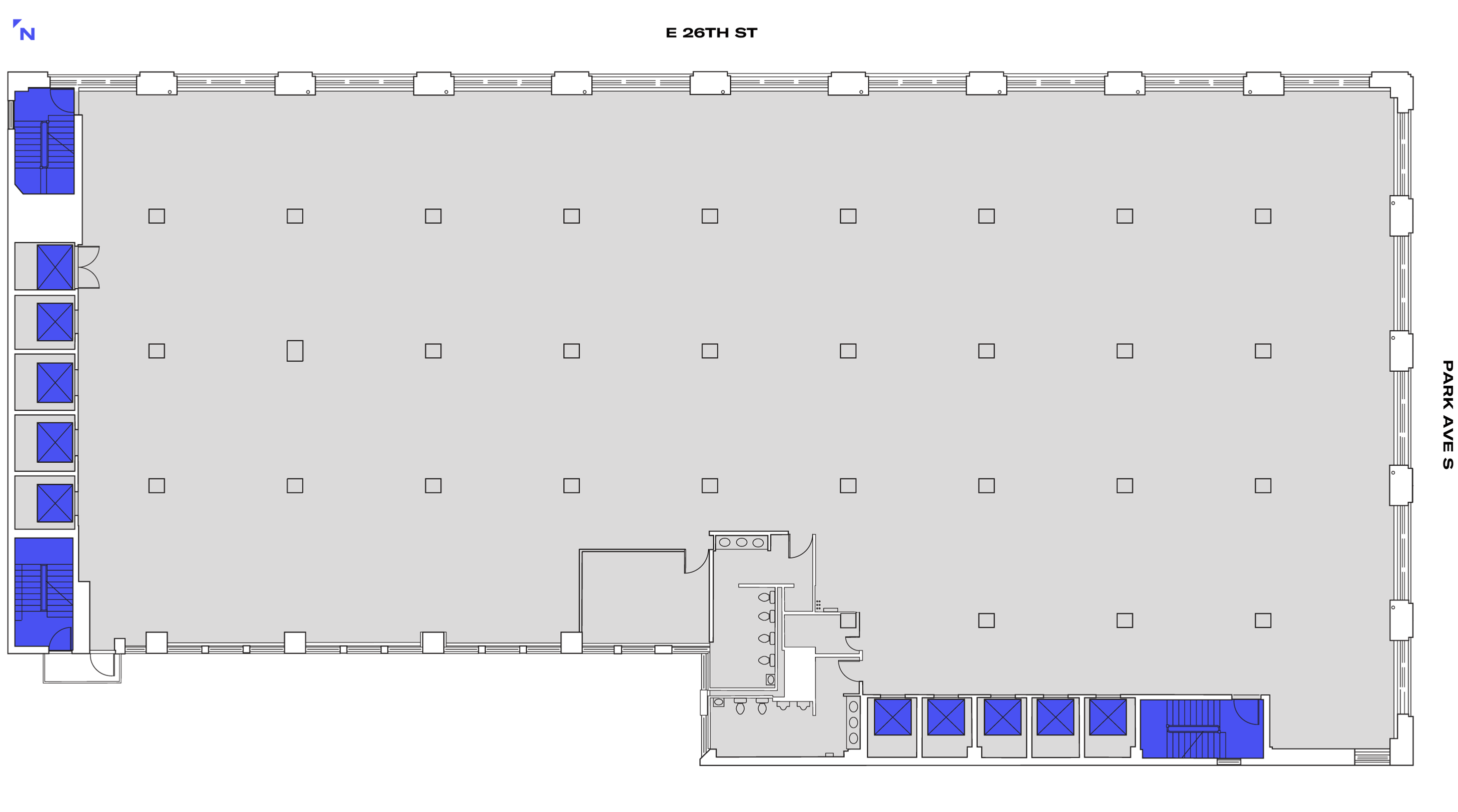 360 PAS' Large Office Floorplan