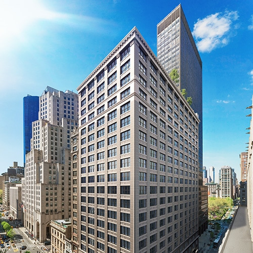 Digital Rendering of 360 Park Avenue South Building Exterior
